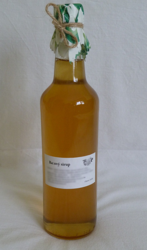 bazovy sirup 500ml